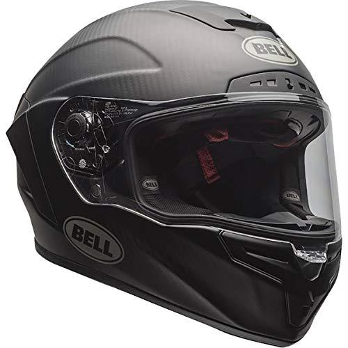 Bell Race Star DLX Full-Face Motorcycle Helmet (Matte Black, Medium)