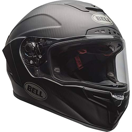 Bell Race Star Flex DLX Adult Street Motorcycle Helmet - Matte Black/Medium