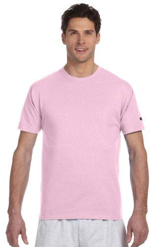 Champion 6.1 oz. Tagless T-Shirt, Pale Pink, 2XL