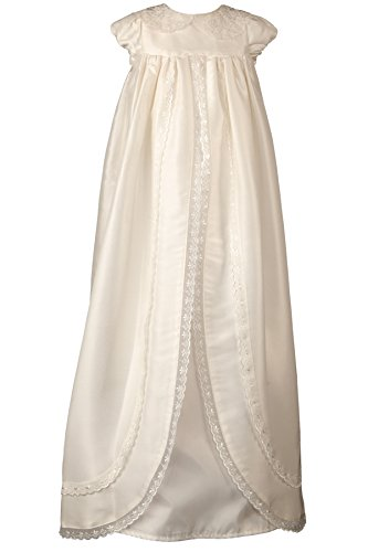 Heritage Ariana Unisex Christening Gown, 3 to 6 Months