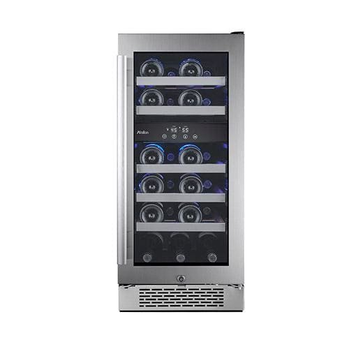 "Avallon AWC151DZRH 23 Bottle 15"" Dual Zone Built-In Wine Cooler - Right Hinge"