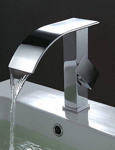 Waschbecken Wasserhahn Zeitgen?ssische Design Wasserfa?l Wasserhahn (verchromt)