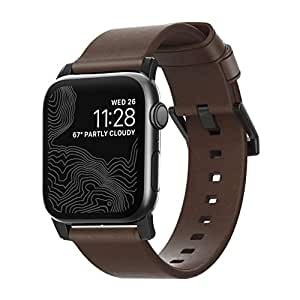 Amazon.com: Nomad Modern Strap for Apple Watch 44mm/42mm