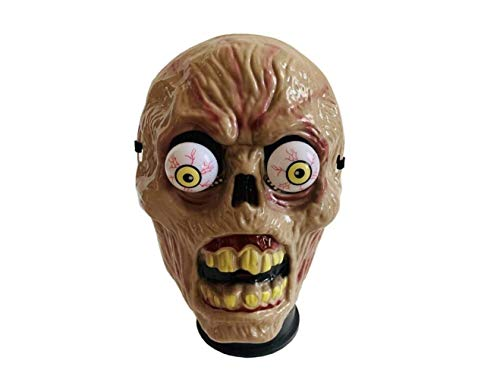 Mask Halloween Spring Eyeball Zombie Mask Cosplay Masquarade Horror Mask Halloween Party Costume Prop -