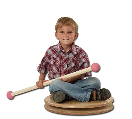 pedalo Kinderkarussell I Drehscheibe I Balance Board I Balancier Spiel I Koordination I Rotation I Gleichgewichtstrainer