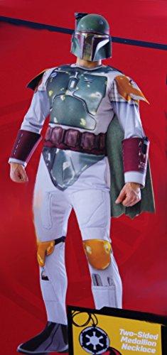 Disney Boys Star Wars Deluxe Boba Fett Costume (Small (Star Wars Deluxe Boba Fett Kids Costumes)