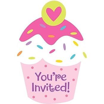 amazon com amscan amsdd birthday party postcard invitation cards