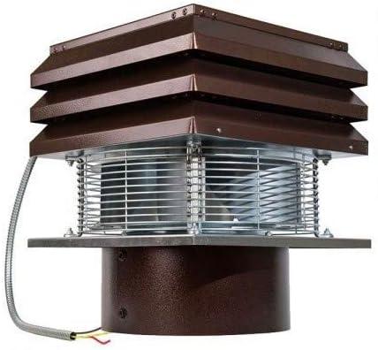 Extractor de humo Extractores de humo para chimeneas para barbacoa Aspirador de humos para chimenea extractor de chimenea modelo base redondo de 30 cm