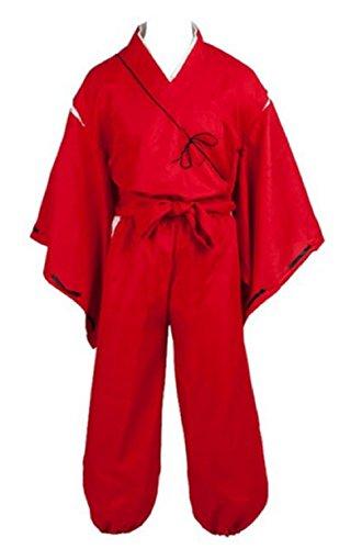 Fuji Inuyasha Hero Simplified Cosplay Costume (Inuyasha Kikyo Cosplay Costume)