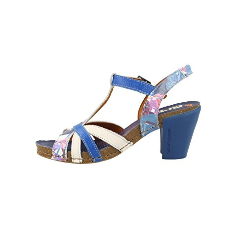 0239F Blue I Fantasy Art Hawai Sandals Feel 7qznwxHR