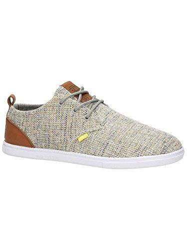 Djinns Herren Sneaker LowLau Colored Linen Sneakers Grey/Yellow