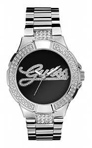 Guess Prism W11571L2 - Reloj de mujer de cuarzo, correa de acero inoxidable color plata