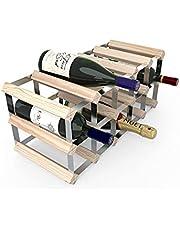 Wijnrek voor 15 wijnflessen