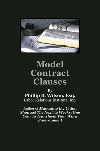 Model Contract Clauses