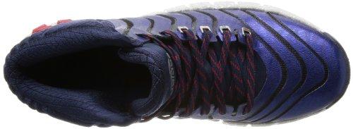 adidas G98406, Scarpe da Basket Uomo Blau (Collegiate Navy / Light Scarlet