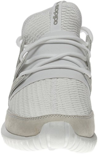 Adidas Originals Mens Tubolare Radiale Moda Sneaker Bianco / Bianco / Grigio Solido Lgh