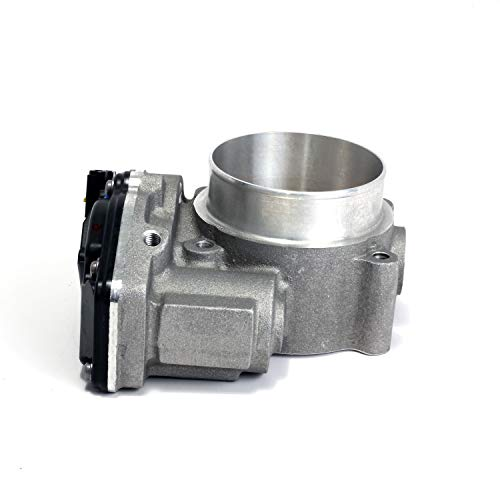 (BBK Performance Parts 1822 Power-Plus Series Throttle Body High Flow 73mm Incl. New OEM Factory Calibrated Electronics Required Hardware Supplied No Tune Required Power-Plus Series Throttle Body)