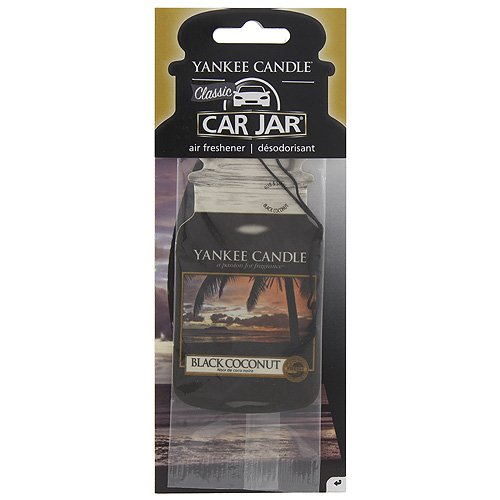 Yankee Candle 1295691E Classic Black Coconut Air Freshener Car Jar