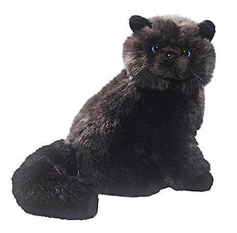 Carl Dick Peluche - Gato negro (felpa, 30cm) [Juguete] 1733003: Amazon.es: Juguetes y juegos