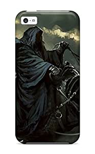 MMZ DIY PHONE CASENjdrIEM2018zpJMV Tpu Phone Case With Fashionable Look For ipod touch 5 - Lord Of The Rings Nazgul