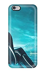 Iphone 6 Plus Case Slim [ultra Fit] Tron Legacy Tripple Monitor Protective Case Cover