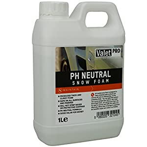 valet pro ph neutral snow foam 1 litre. Black Bedroom Furniture Sets. Home Design Ideas