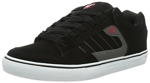 DVS Shoes Unisex Adults' Militia Ct Skateboarding Shoes Grey (Grey Black Red 960) 0clptp
