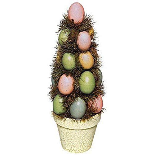 Amscan Special Multicolored Foam Easter Egg Centerpiece | Party Decoration