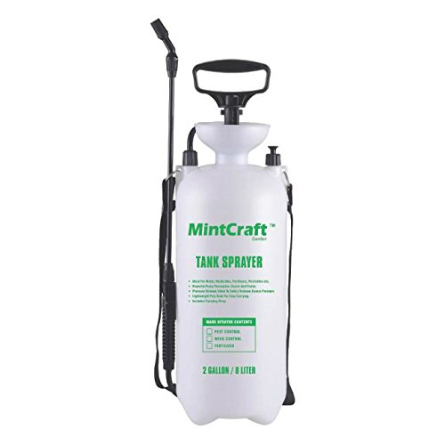 Mintcraft Sx-8b Poly Compression Tank Sprayer, 2 Gallon - Polyethylene Tank Compression Sprayer