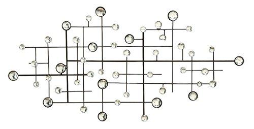 Contemporary Metal Wall Decor - Deco 79 13749 Wall Decor, 42
