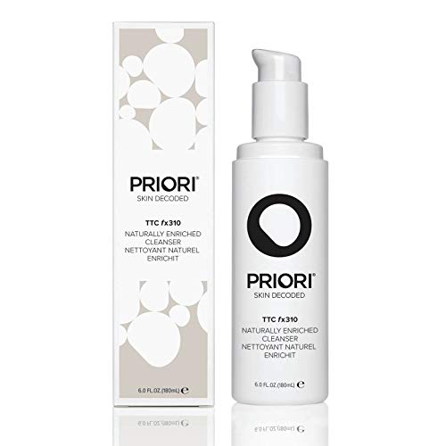 Priori Naturally Enriched Cleanser fx310 Fragrance Free Natural Face Wash for Women and Men | Brightening
