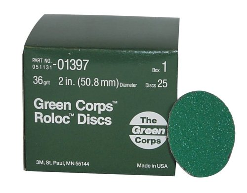 Corps Green (3M 01397 Green Corps Roloc Green Disc)