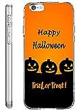 iPhone 6S Plus Case Drop Protection TPU Bumper Case for Apple iPhone 6 Plus (2014) / 6S Plus (2015) Happy Halloween