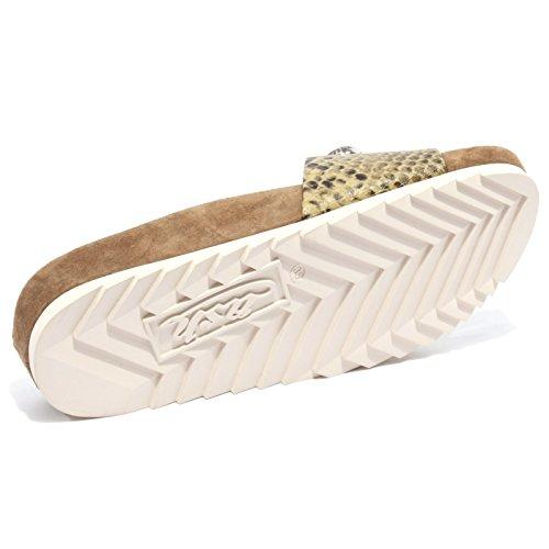 Donna Beige Scarpa Ash Shoe Ciabatta Uno B2264 Woman EOnX7q8