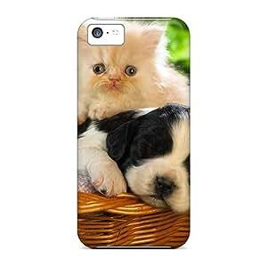 New Cute Basket Buddies Tpu Case Cover, Anti-scratch Mwaerke Phone Case For Iphone 5c