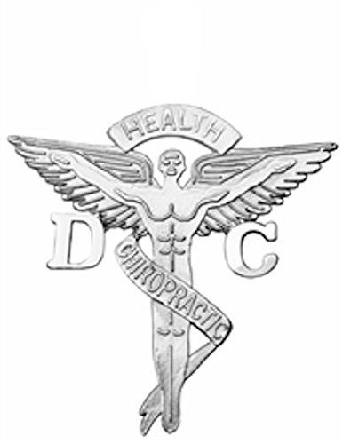 NursingPin Doctor of Chiropractic Medicine DC Graduation Pin in Sterling Silver