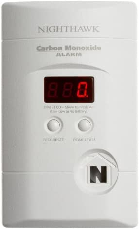 Kidde KN-COPP-3 Carbon Monoxide Detector, AC Plugin, Battery Backup w Digital Display Model KN-COPP-3