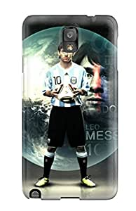 Hot Selling Tpye Lionel Messi Soccer World Case Cover For Galaxy Note 3
