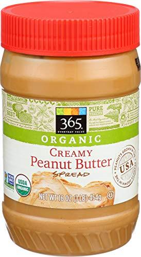 365 Everyday Value, Organic Creamy Peanut Butter, 16 oz