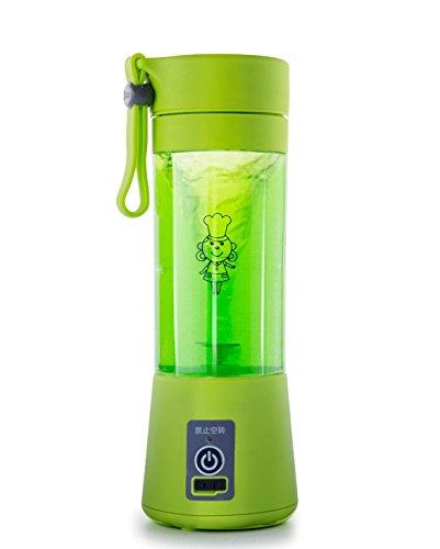 JNS Mini Batidora Vaso Portátil Licuadora De Zumo ®Genius Factory (Verde)