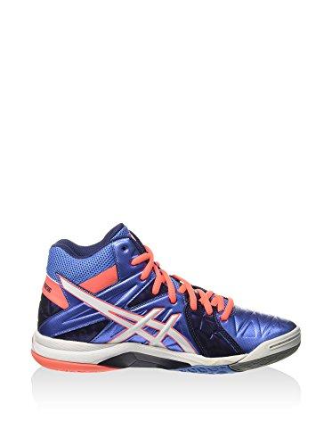 Asics - Zapatillas de voleibol para mujer Azul POWDER BLUE/WHITE/FLASH CORAL