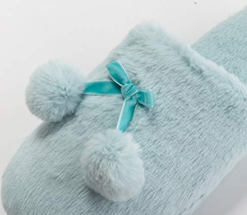 RagazzeBlu 39 Tofern Foam Invernale ScuroEu 40 Azzurro Confortevole Memory Warm Pantofola Antiscivolo Fluffy Donne Per E 1ulKFJc3T