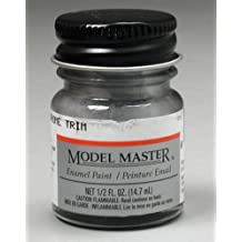 Testors Model Master Automotive Enamel Silver Chrome Trim by TESTORS PAINT