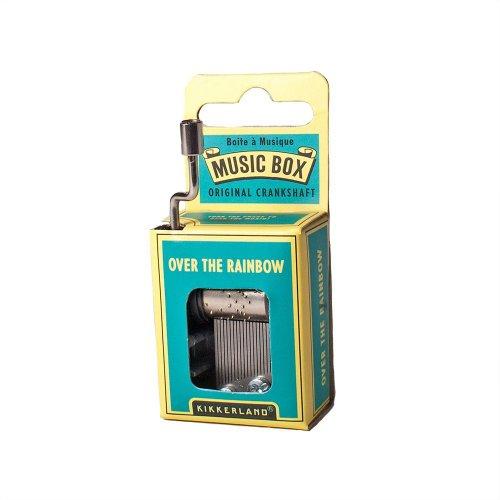 Kikkerland Over the Rainbow Crank Music (Music Toy Box)