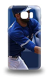 Galaxy Design High Quality MLB Toronto Blue Jays Jose Bautista #19 Cover 3D PC Case With Excellent Style For Galaxy S6 ( Custom Picture iPhone 6, iPhone 6 PLUS, iPhone 5, iPhone 5S, iPhone 5C, iPhone 4, iPhone 4S,Galaxy S6,Galaxy S5,Galaxy S4,Galaxy S3,Note 3,iPad Mini-Mini 2,iPad Air )