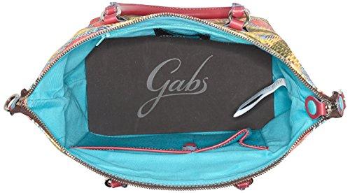 GABS G3, Borsa a mano Donna Multicolore (Spirale)
