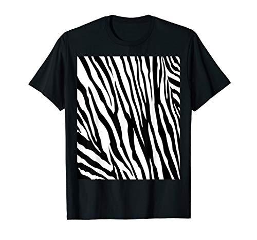 Zebra Double Sided Print Halloween Costume -
