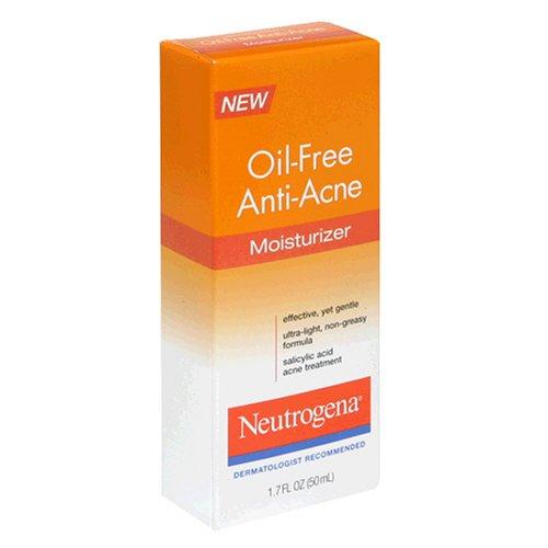 UPC 070501060216, Neutrogena Oil-Free Anti-Acne Moisturizer, 1.7 Ounce (Pack of 3)