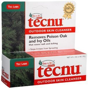 Special Pack of 5 TEC LABORATORIES TECNU POISON OAK/IVY CLEANSER 4 oz by Med-Choice