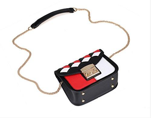 Couture Frizione Donne Di Rete Catena Moda Messenger Tracolla Sacchetto 8vzgnWF1q